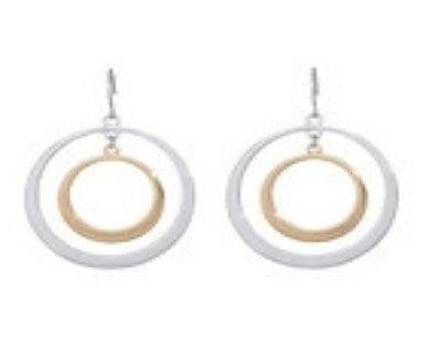 4211 - Inner Circle Earrings - by DeVries (2013) FALSE -     4211-ANNA - Pi Style Boutique - Annaleece - Accessories