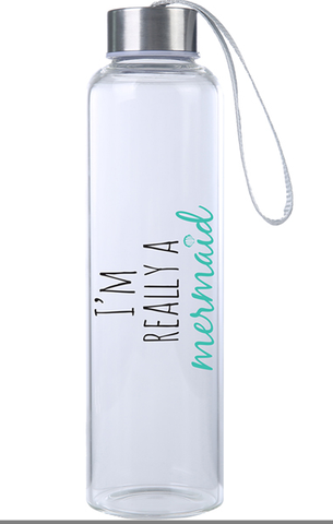 Hydrate yourself - Glass Water Bottles