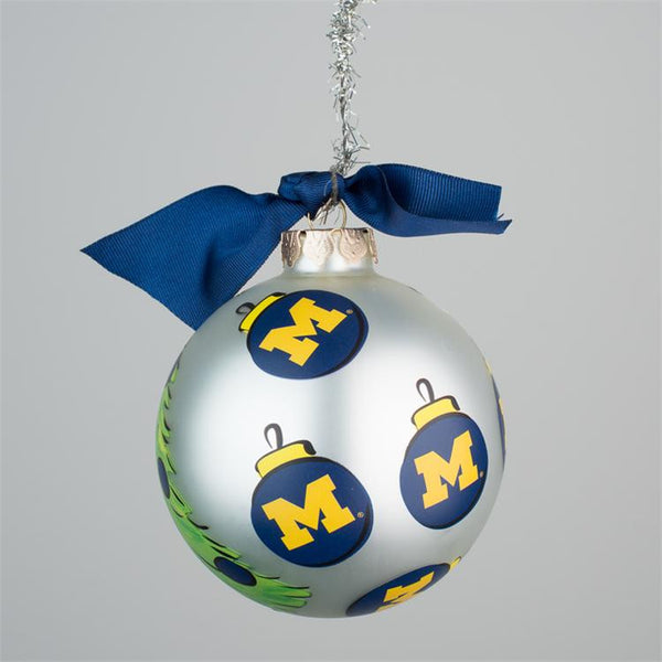 Michigan Santa Glass Ornament - Pi Style Boutique - Glory Haus - Gifts & Decor - 2