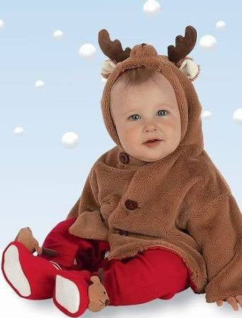 Infant Reindeer Coat - Pi Style Boutique - Bearington