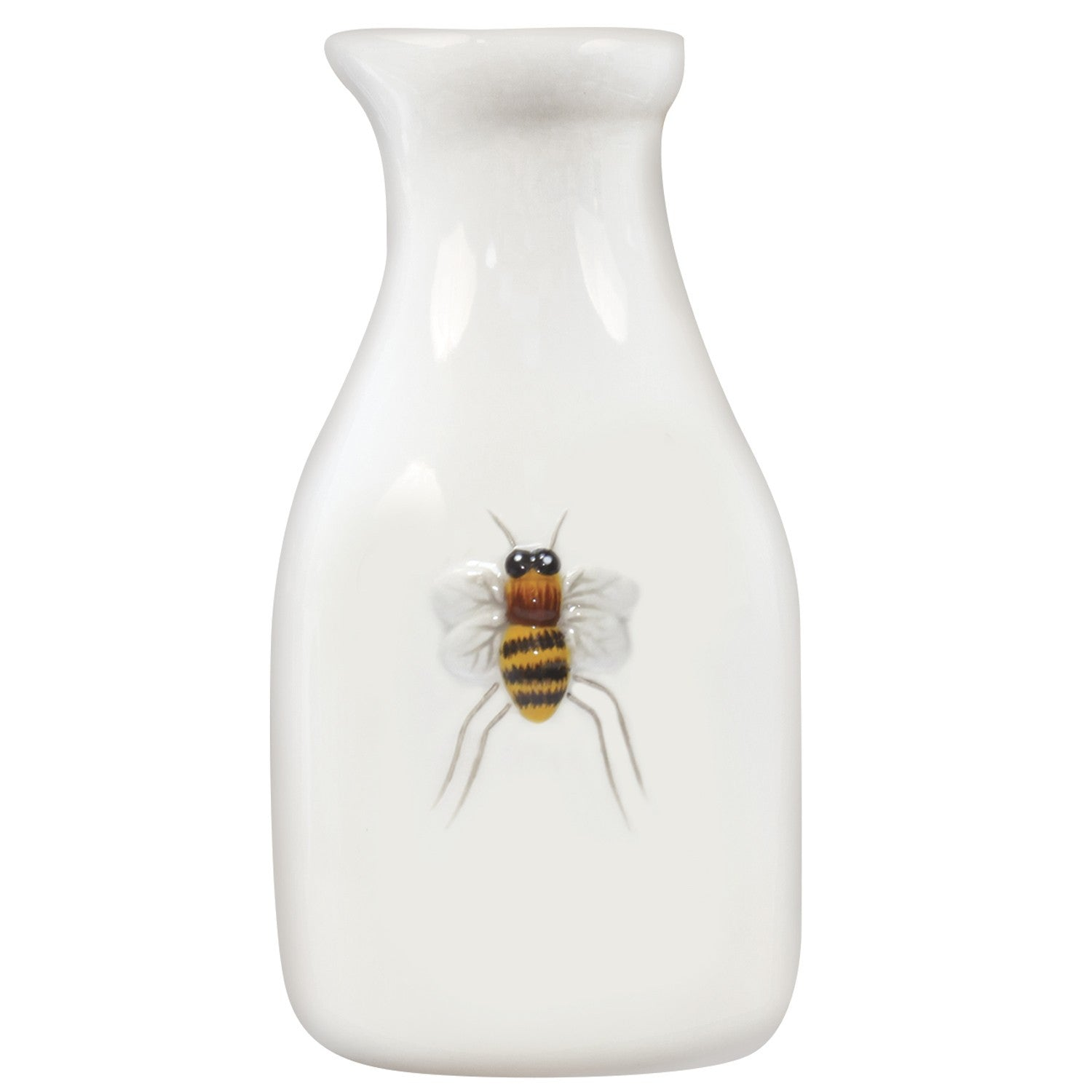 Bee Ceramic Creamer Bottle by Mary Lake-Thompson - Pi Style Boutique - Mary Lake-Thompson Ltd. - Gift & Decor