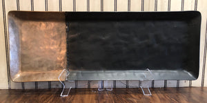 Black Rectangular Tray