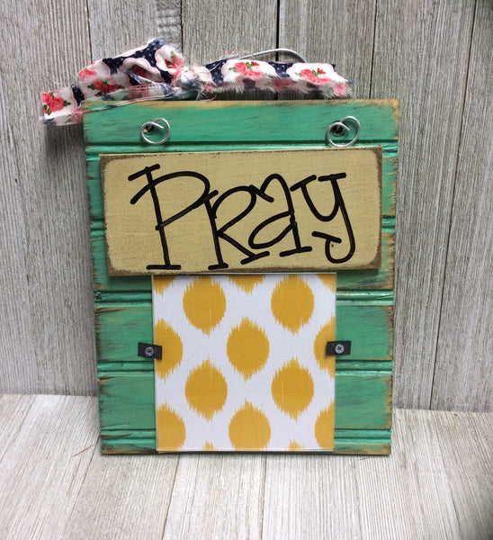 Pray Hanging Frame