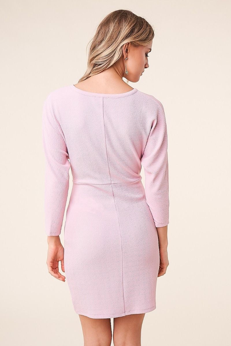 Blushington Cross Front Dress