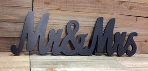 Mr. & Mrs. Wall Decor