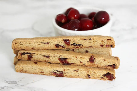 Cranberry & Cheese Barkscotti