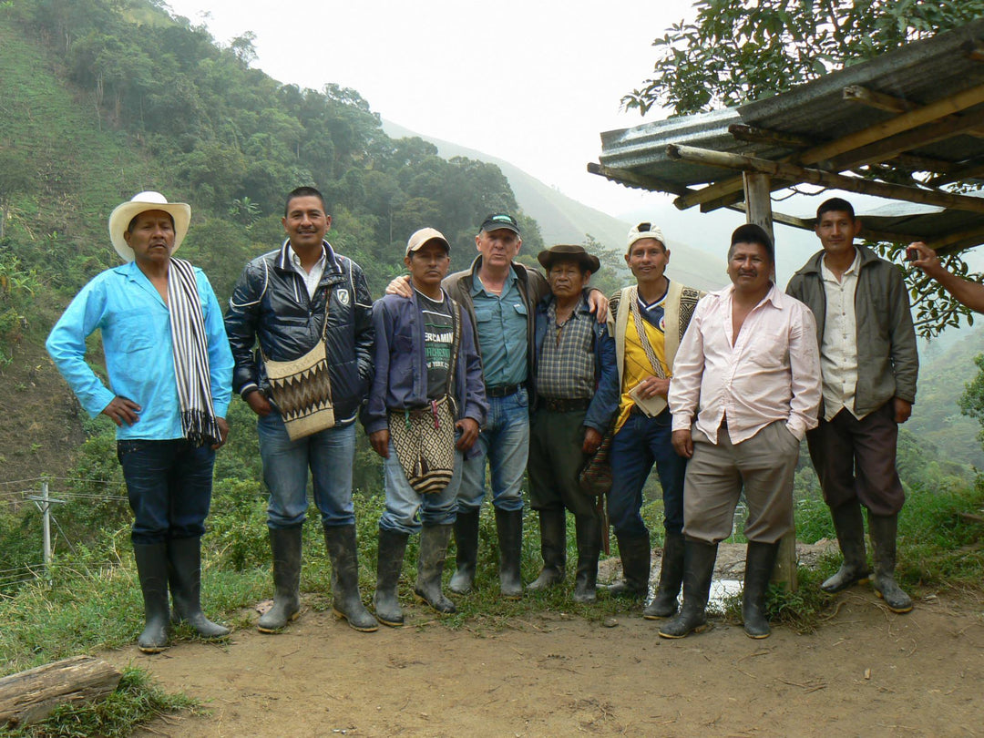 Sourcing Coffee from The Green Collection in Colombia