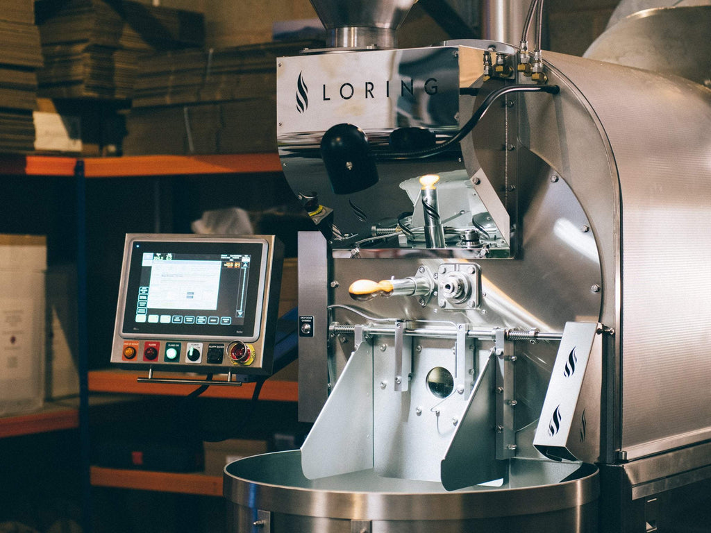 Our new roaster - Loring S35 Kestrel