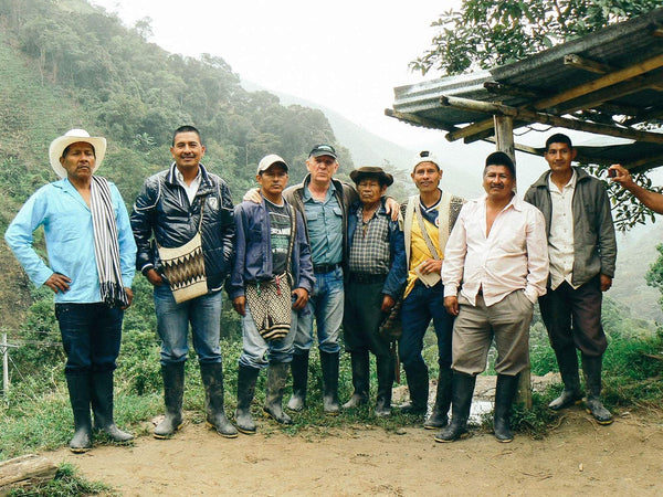 Sourcing great Colombian coffee