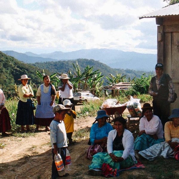 Bolivian coffee producers