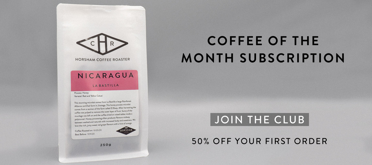 Coffee of the month subscription