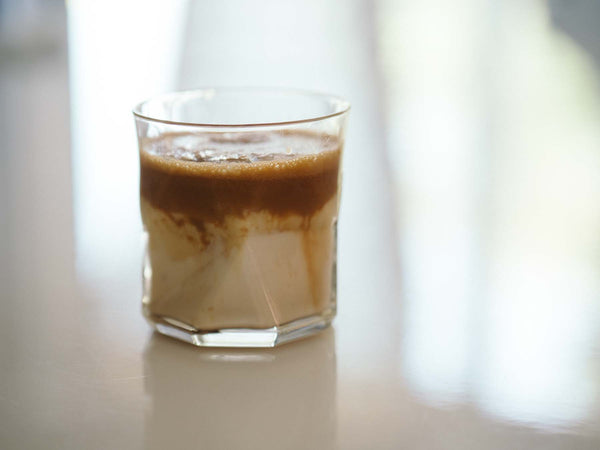 Dalgona Coffee recipe with espresso