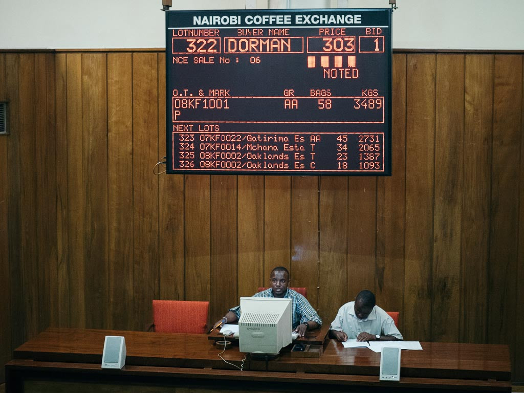 Kenya Coffee Auction