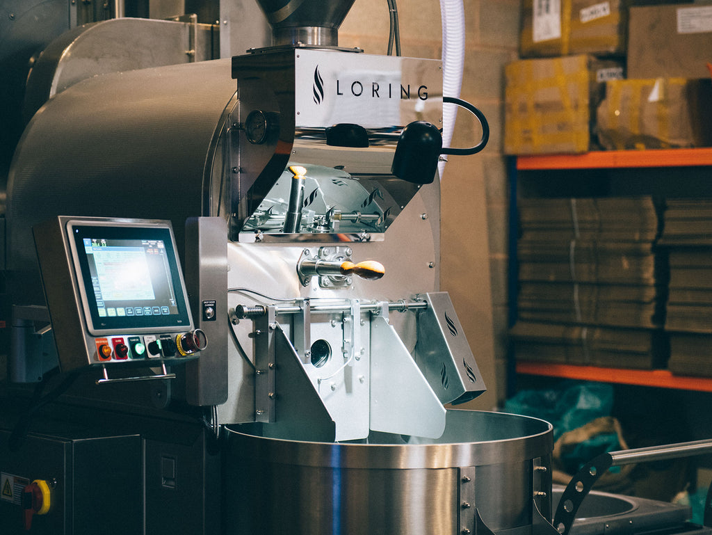 Loring S35 coffee roaster