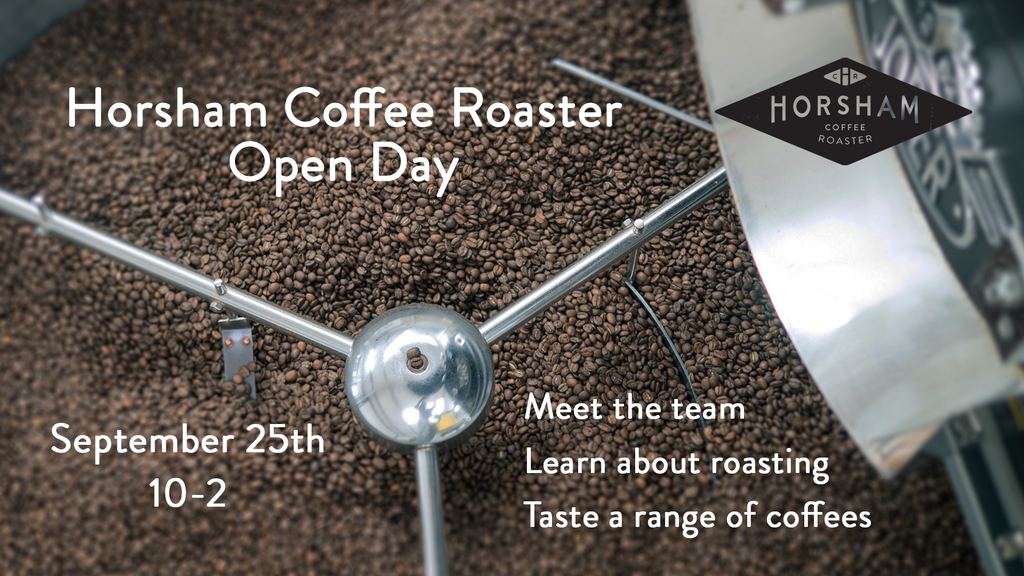 Horsham Coffee Roaster open day