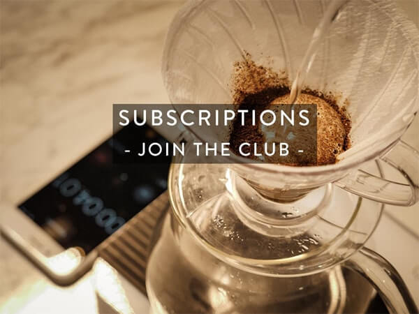 Coffee subscriptions online