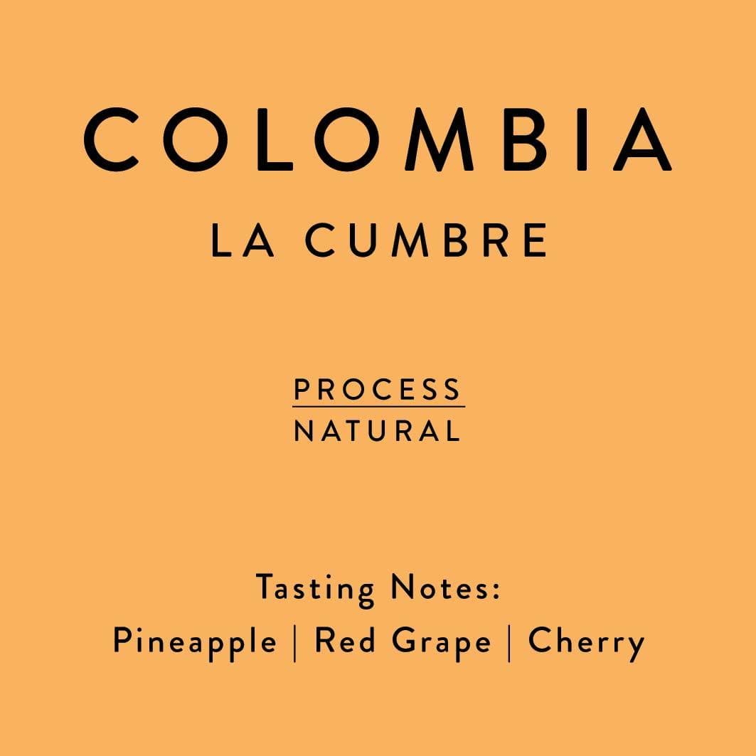 Colombia La Cumbre coffee