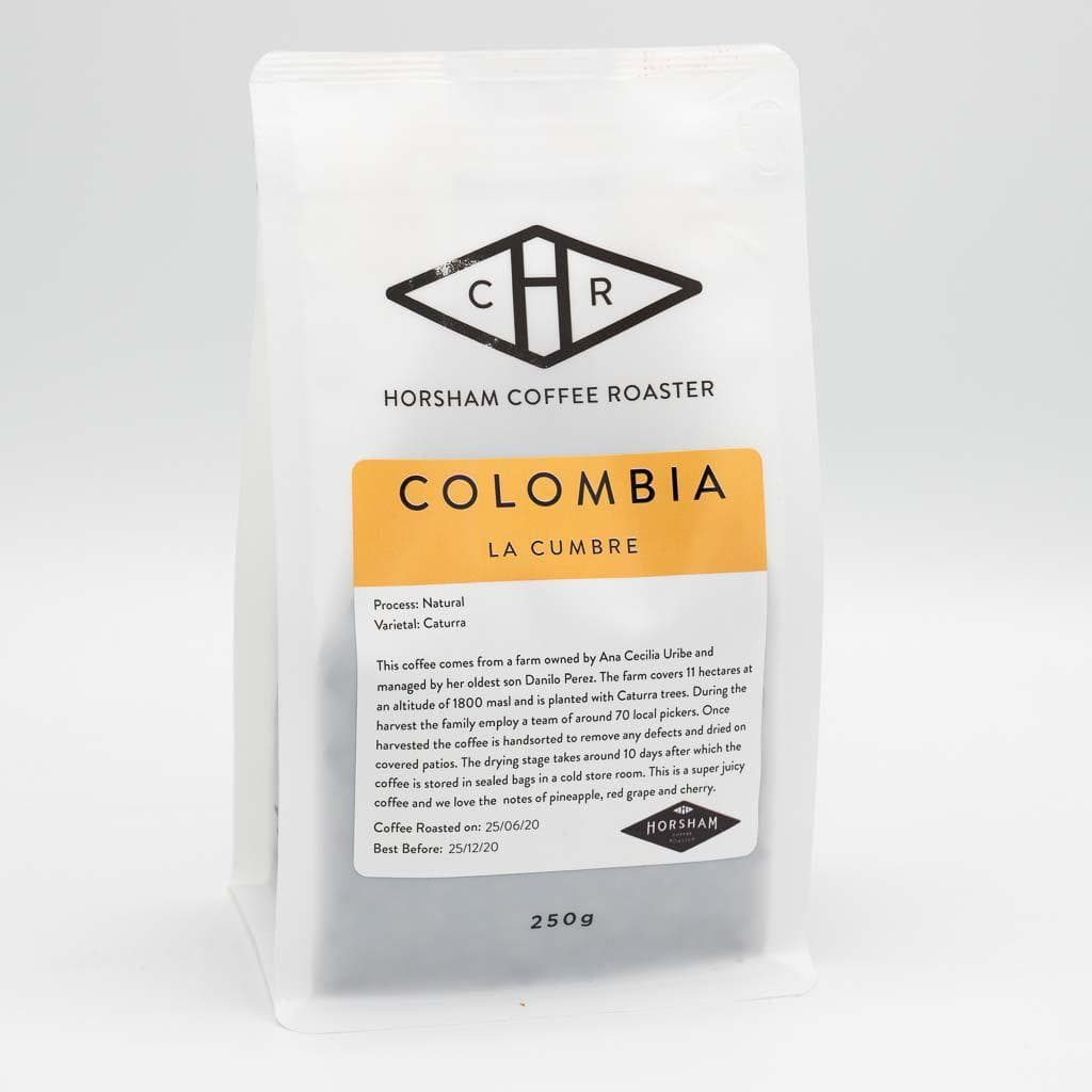 Colombia La Cumbre coffee bag