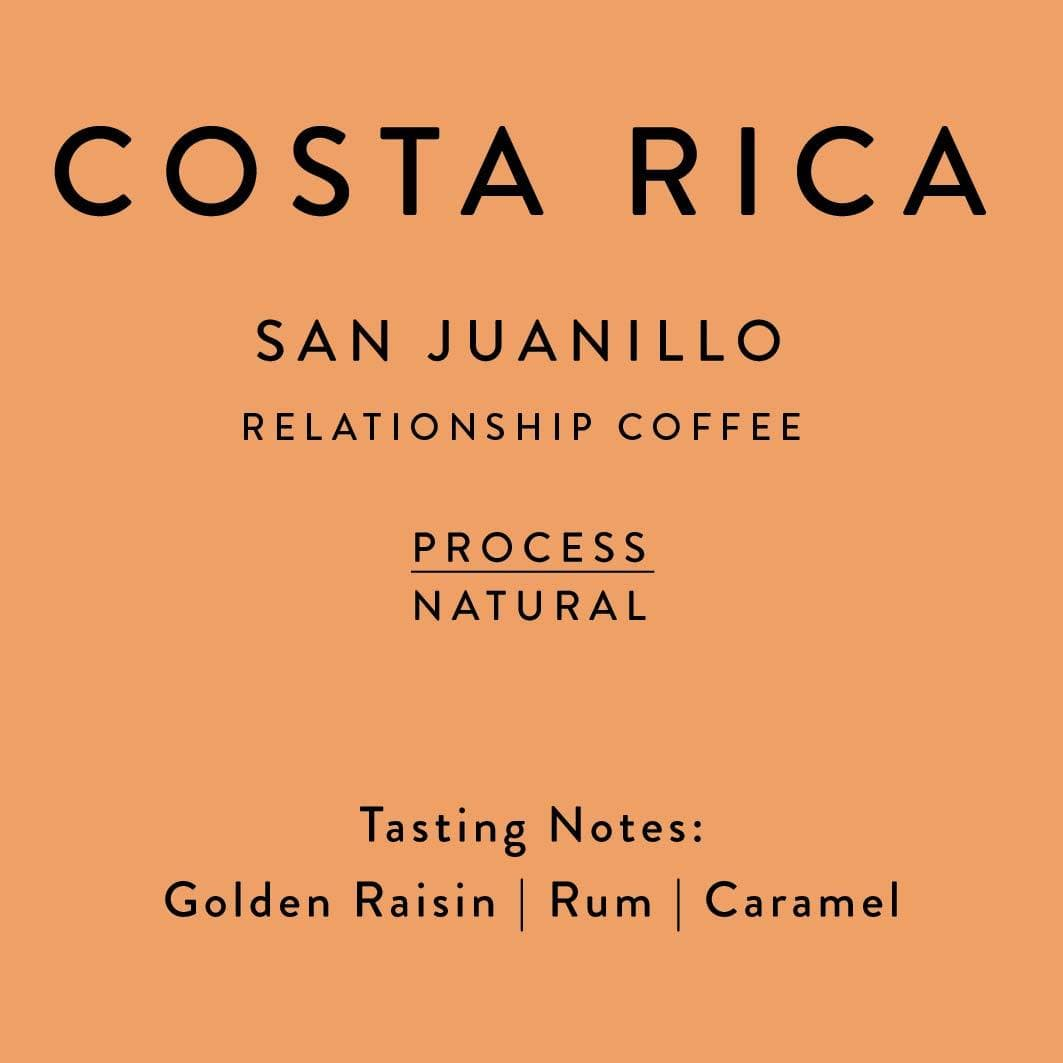 Costa Rica San Juanillo Natural Coffee