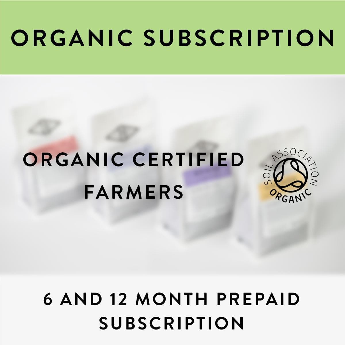 Organic Coffee Subscription - Prepaid