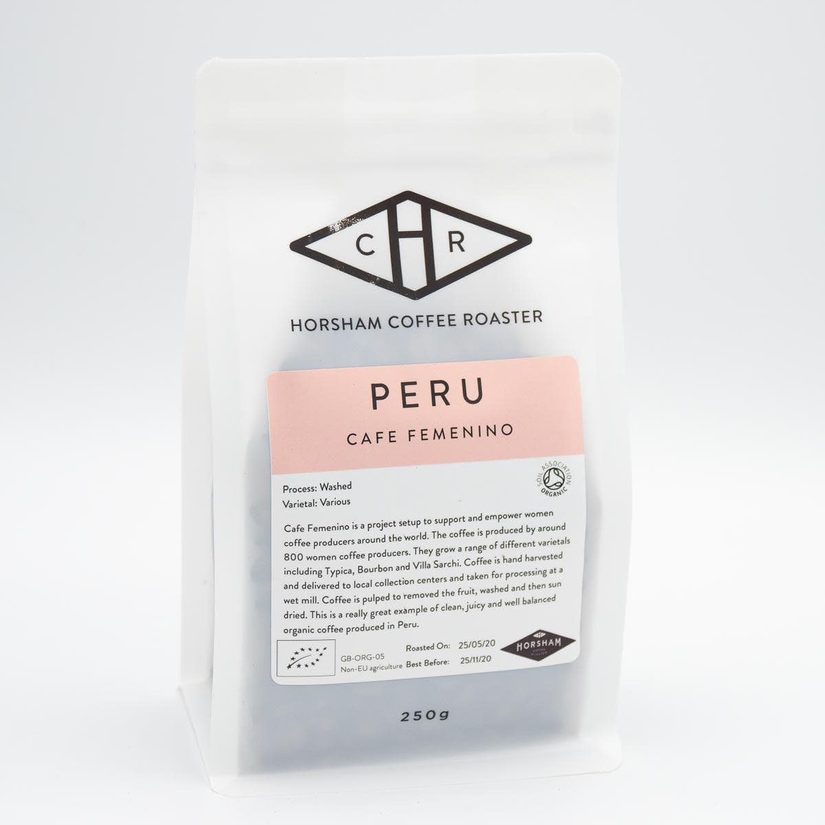 Peru Cafe femenino Organic Coffee