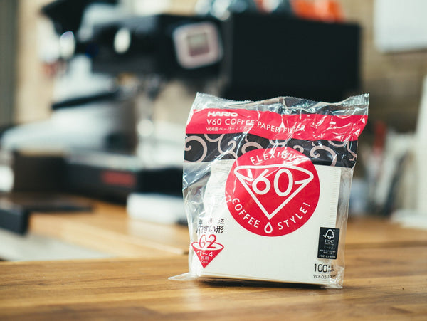 Hario V60 02 pack of 100 filter papers - Horsham Coffee Roaster
