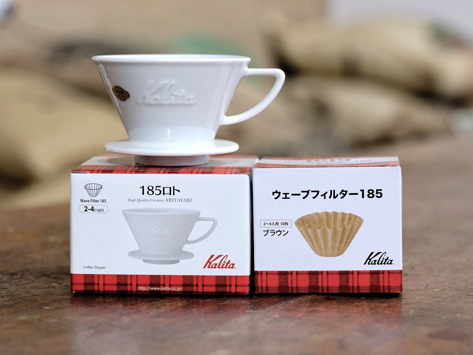 Kalita Wave 185 Ceramic - Free UK Delivery - Horsham Coffee Roaster