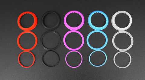 Kanger Subtank Mini Multicolor Gasket Kits 5pk - PEC Vape Shop