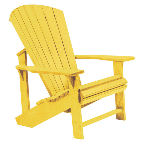 Adirondack Chair - Yellow