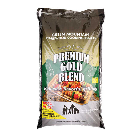 Green Mountain Grills Premium Gold Blend Pellets