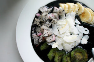 Dragonfruit Charcoal Smoothie Bowl
