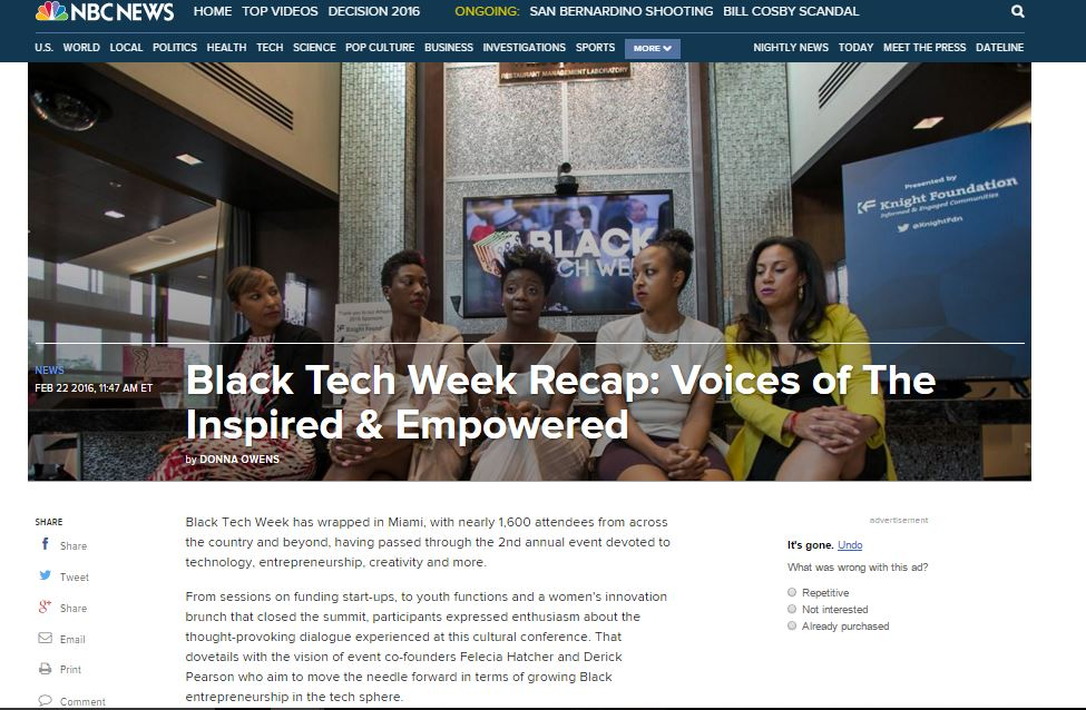 Barbara Jacques on NBC BLK at 2nd Annual Black Tech Week