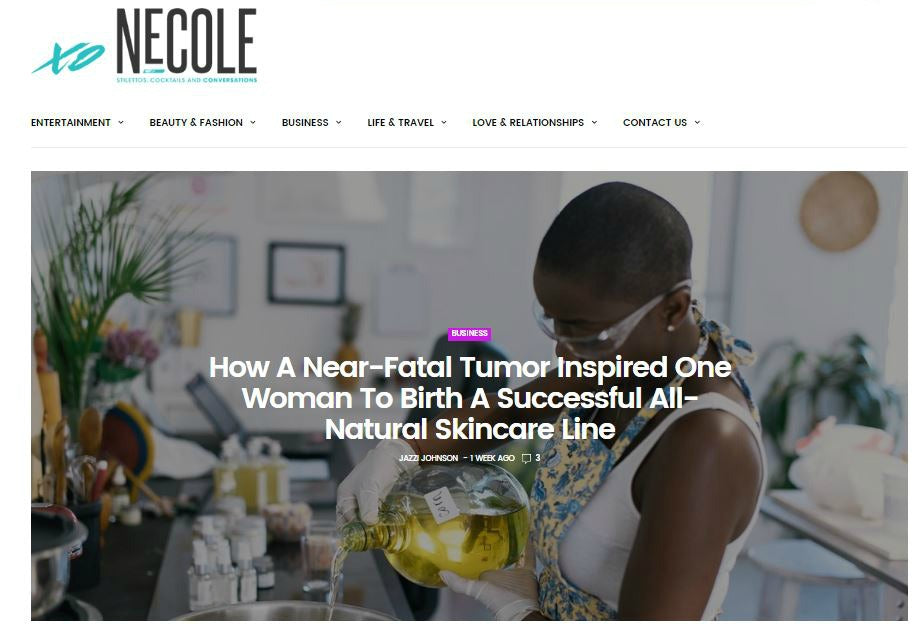 JACQ's beauty press, xoNECOLE