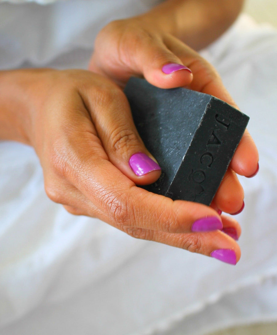 Plantain & Activated Charcoal Cleansing Bar - Jacq's