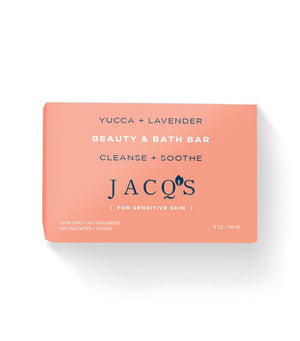 Yucca & Lavender Cleansing Bar