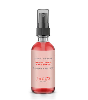 JACQ's Healing Face Cleanser + Toner Skincare Duo