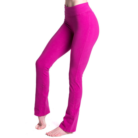 Love Bootcut Legging with Fold Over Adjustable Waistband