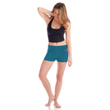 Wisdom Yoga Shorts - Teal