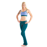 Love Body Smoothing Leggings for Yoga - Dark Teal