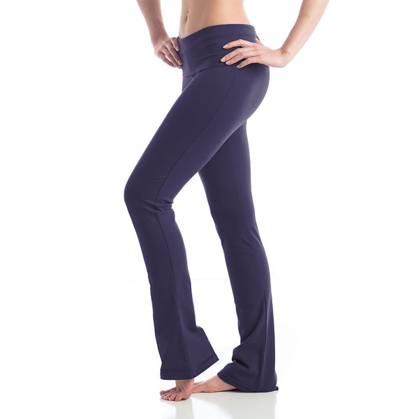 Love Boot Cut Leggings for Yoga - Navy