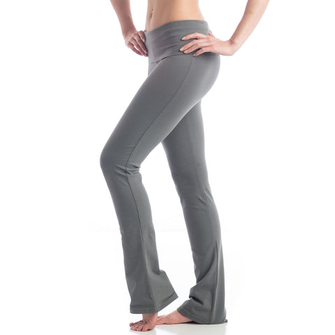 Love Boot Cut Leggings for Yoga Charcoal