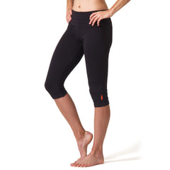 Love Capri Leggings - Black
