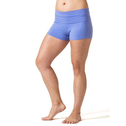 Love Yoga Shorts periwinkle