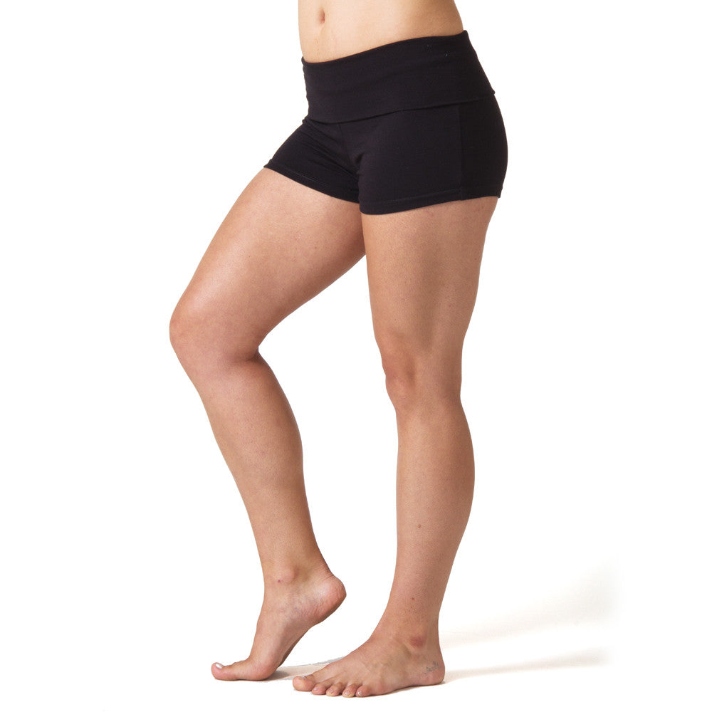 cute cheap on feet shots of discount shop Love Yoga Shorts - Black – Beckons Inspired Clothing
