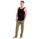 Men's Loose Yoga Pants  | Black, Olive, Charcoal, Navy and Dark Teal