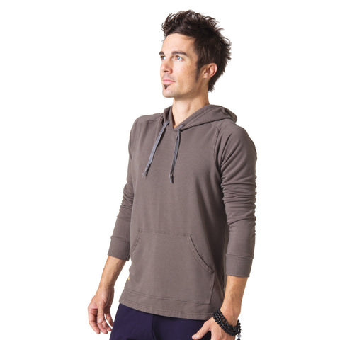 Men's Integrity Meditation Hoodie - Gray