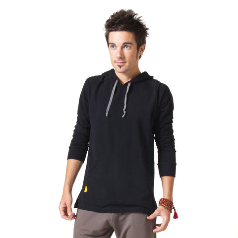 Men's Integrity Meditation Hoodie - Black
