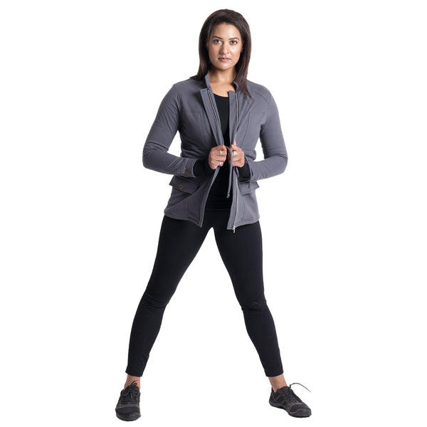 Berkshire Jacket Charcoal Gray