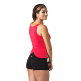 Wisdom Sleeveless Yoga Top - Red
