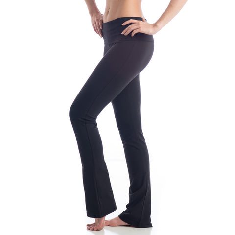 Love Boot Cut Leggings for Yoga black